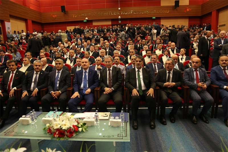 Akademik Yıl Açılışını İçişleri Bakanı Soylu yaptı