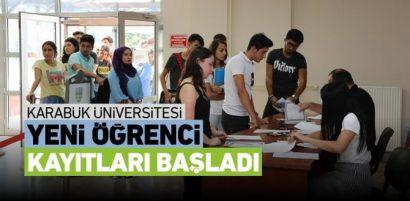2018-2019 KBÜ Öğrenci Kayıtları Başladı