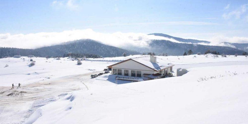 Keltepe Kayak Merkezi Ziyaretçilerini Bekliyor