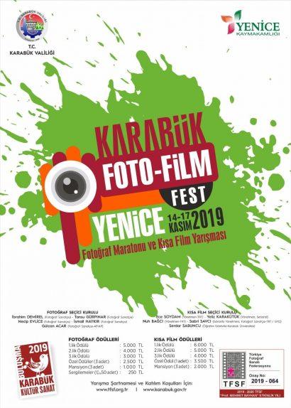 KARABÜK- YENİCE FOTO-FİLM FESTİVALİ Fotoğraf Maratonu ve Kısa Film Yarışması