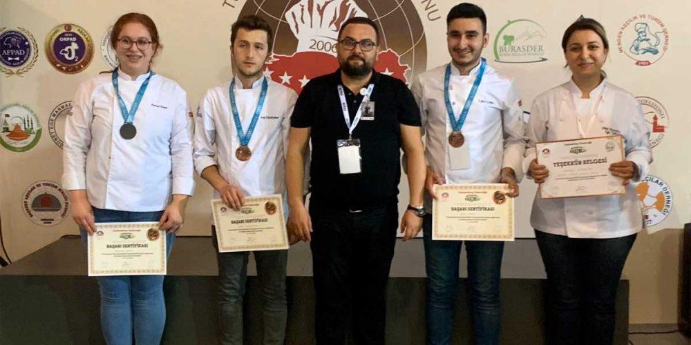 Eflani MYO Aşçılık Bölümü Ödüllere Doymuyor