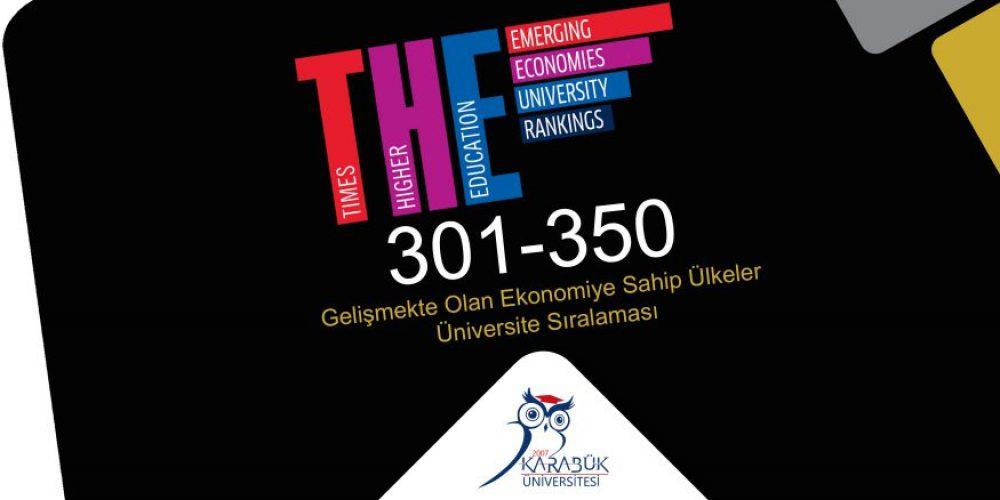 Karabük Üniversitesi başarılarına bir yenisini daha ekledi
