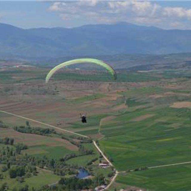 Karabük'te Yamaç Paraşütü