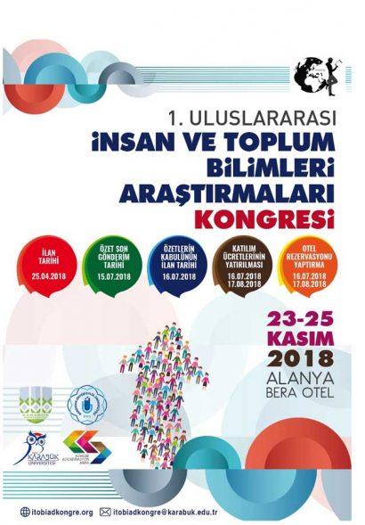 I. Uluslararası İnsan ve Toplum Bilimleri Araştırmaları Kongresi