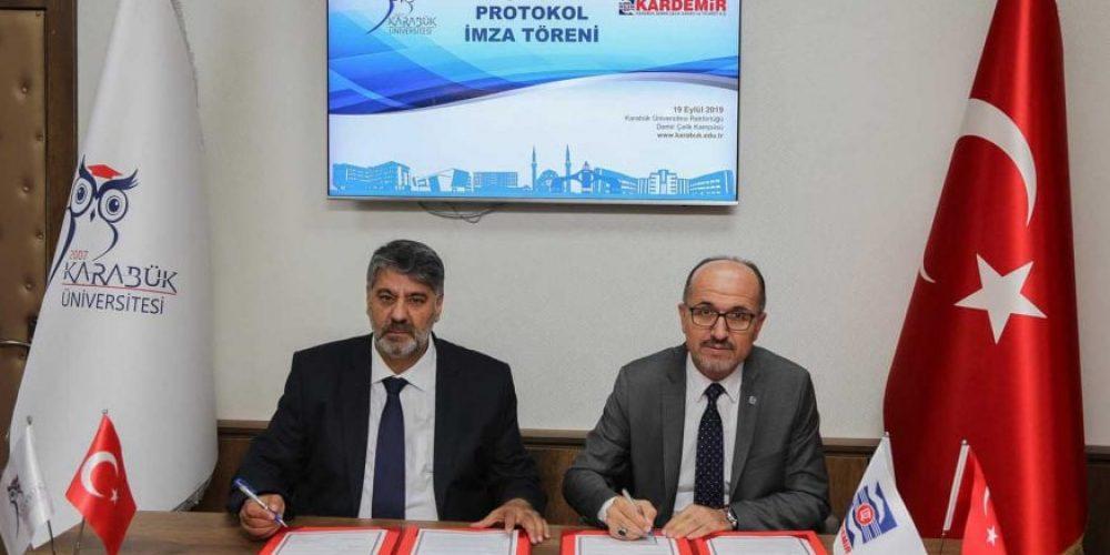 Karabük Üniversitesi ile KARDEMİR iş birliğini güçlendiriyor