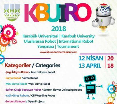 Karabük Üniversitesi Uluslararası Robot Yarışması